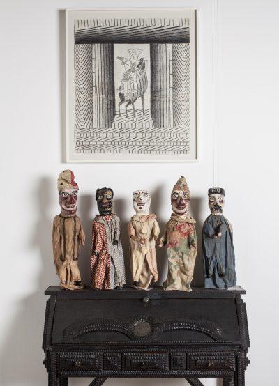 Ray Yoshida's Museum of Extraordinary Values installation view at the John Michael Kohler Arts Center, 2013.